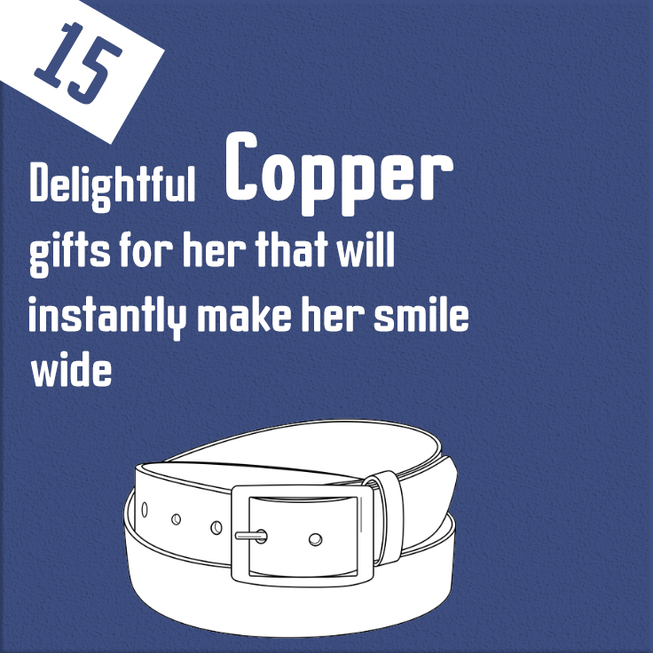copper gifts for her