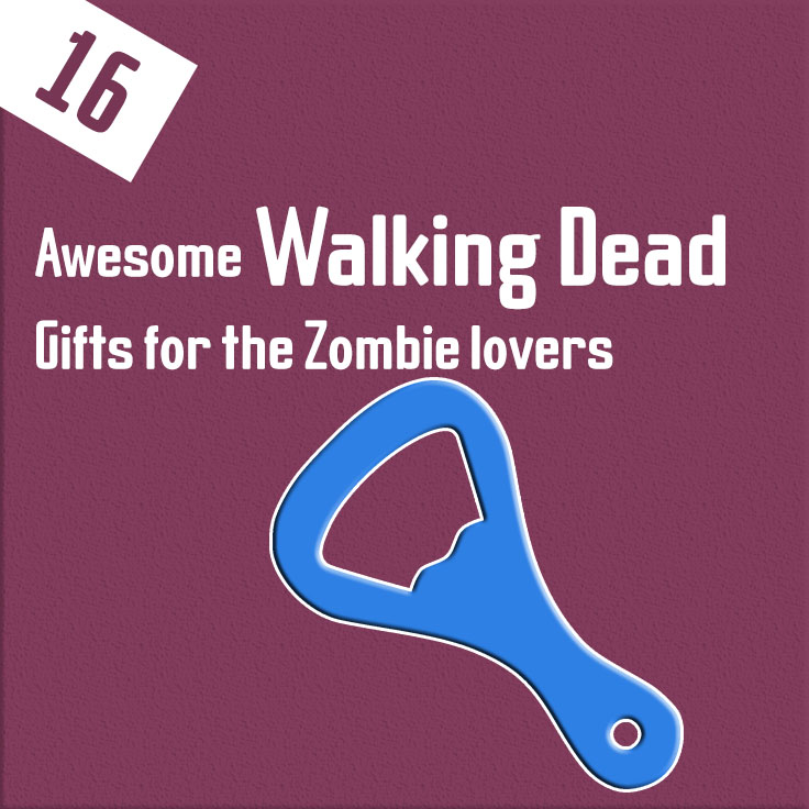 16 awesome Walking Dead Gifts for the Zombie lovers