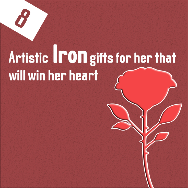 Iron Gifts - 6th Anniversary gifts