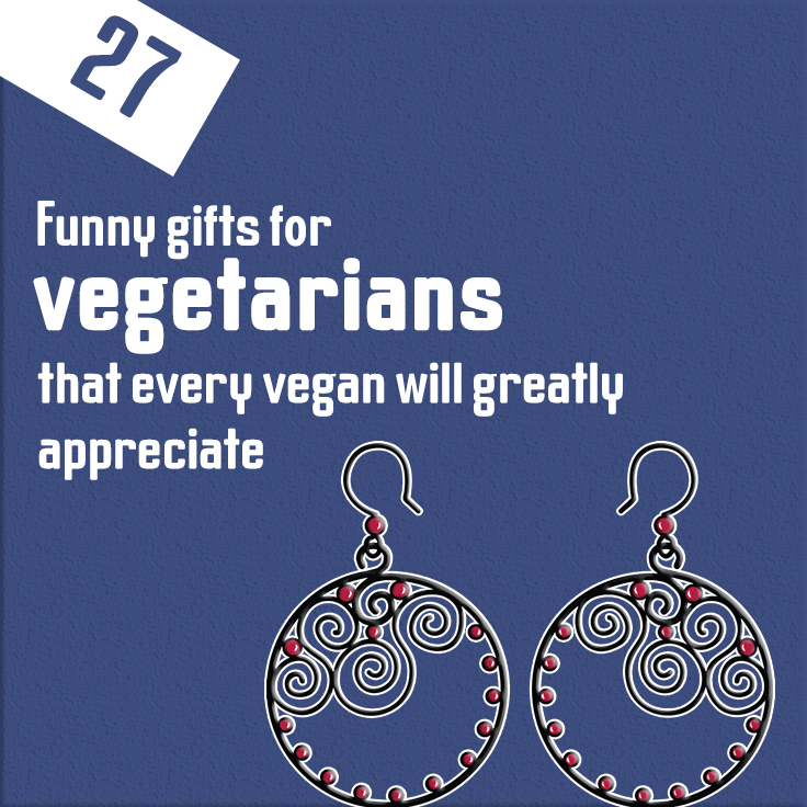 27 funny gifts for vegetarians that every vegan will greatly appreciate