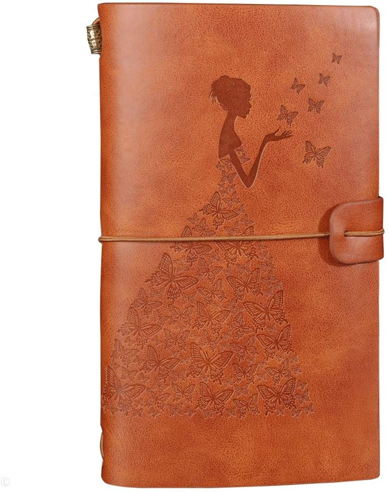 Leather Journal Refillable Travelers Notebook Notepad Diary