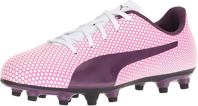 PUMA Unisex-Kids Spirit FG Jr Soccer Shoe
